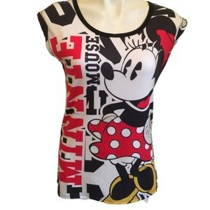 Minnie Mouse Embellished T-shirt